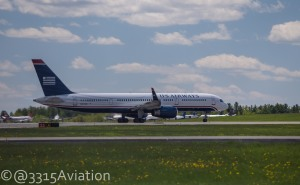 US Airways Flight 799 Departing Bangor.
