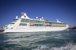 The Rhapsody of the Seas.