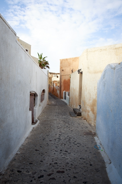 Streets of Oia.